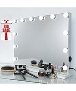 iCREAT Hollywood Makeup Mirror, Lighted Vanity Mirror, Cosmetic Mirror w... - $115.99