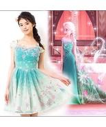 Authentic Disney Frozen Fever Elsa 3D Flower Dress by Secret Honey Japan - $499.00