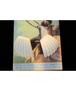 Ivory White Art Deco Vintage Plastic Earrings S... - $4.99