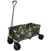 Garden Beautification Tool Seven Cubic Foot Folding Garden Wagon Carts i... - $127.99
