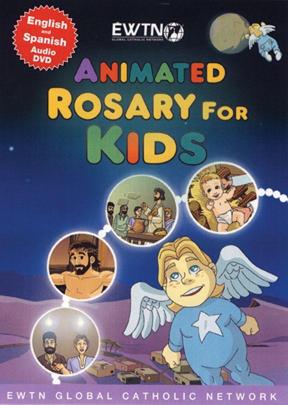 Animated rosary for kids   ewtn  dvd
