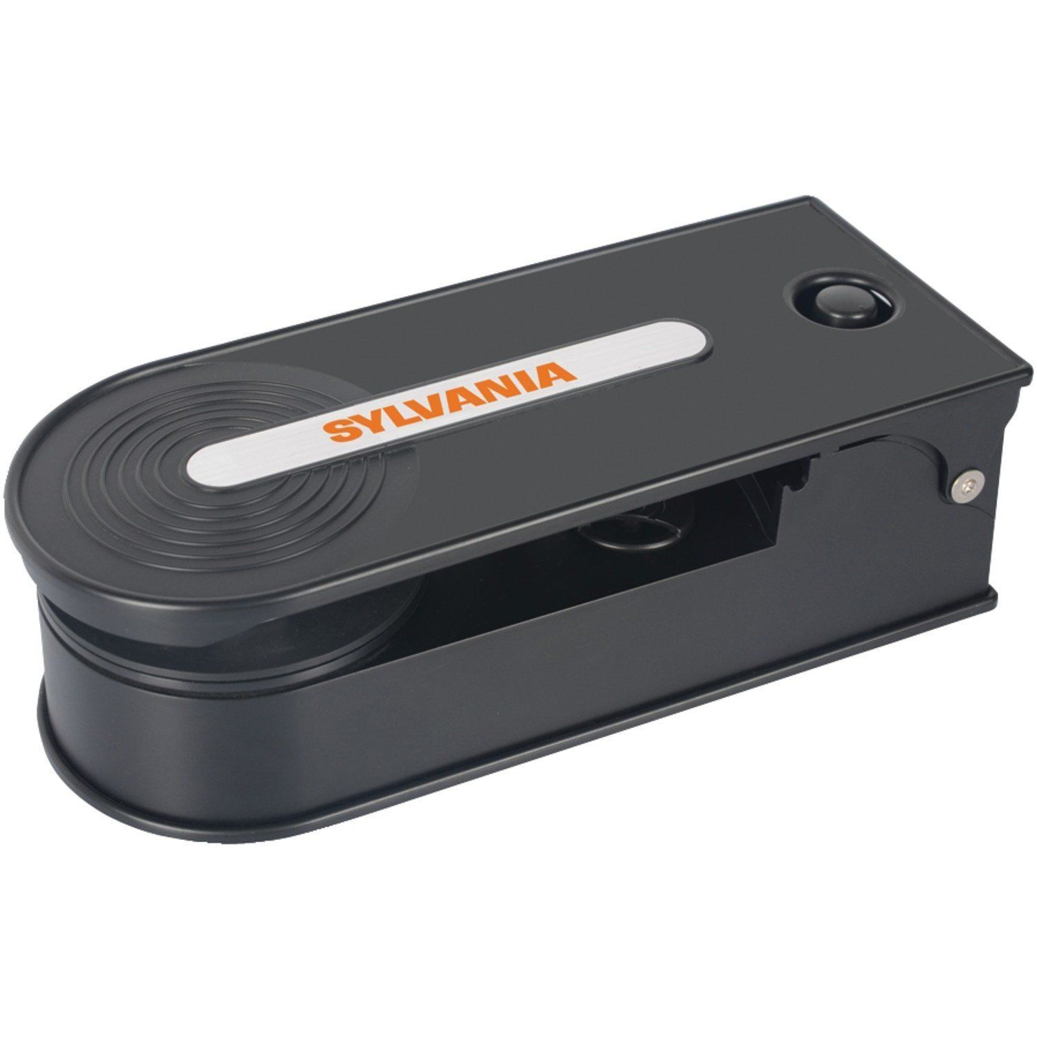Hot Sale! $33.95 Sylvania Turntable Record Player with USB Encoding, Black