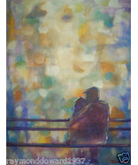 ORIGINAL 24x36 ROMANCE SERIES 2 GICLEE CANVAS Reproduction -: rdoward fi... - $216.81