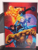 Marvel Fantastic Four Glossy Print 11 x 17 In Hard Plastic Sleeve - $24.99