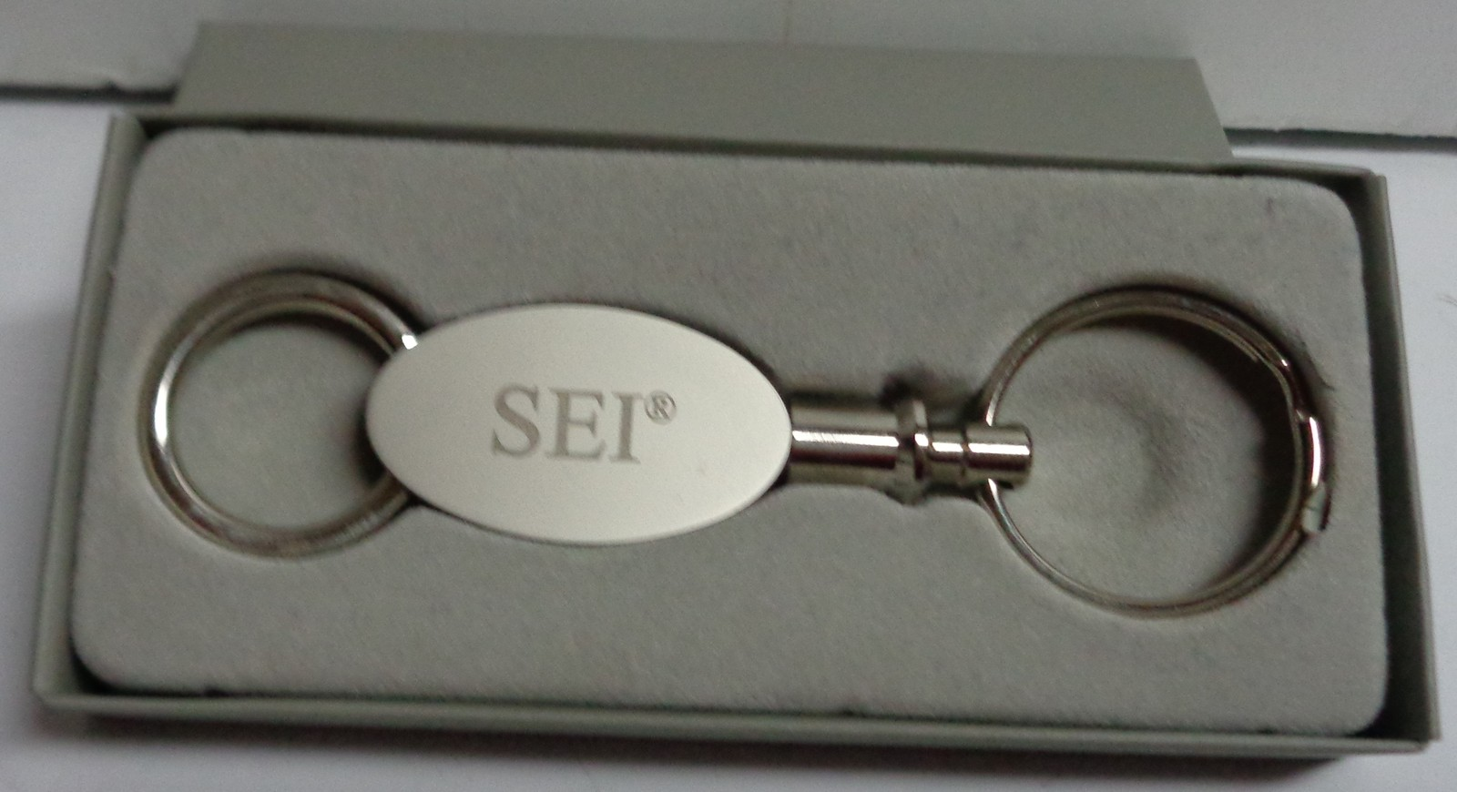 SEI Industries Collectible Key Chain Bambi Bucket 30 Years Stainless Steel NIB