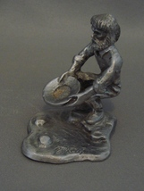 Kneeling Prospector Pewter Western Figurine  - $11.99