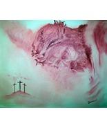 Original 24x36 Jesus Canvas Wall Art - $219.00