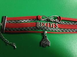Ohio State Infinity Love Charm Bracelet - $6.00