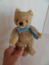 Steiff bear Teddy bear mohair fully jointed button made in  Germany 1486 - $50.34