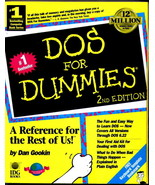 DOS for Dummies by Dan Gookin (1993, Paperback, Revised) - $9.94