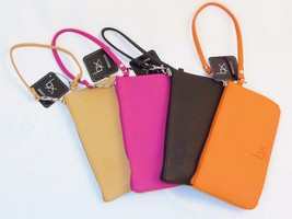Buxton Wristlet ~ Ladies' Faux Leather Zip Wallet, Choice of 4 Colors  #ST695R67 - $10.95