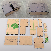 Useless Machine Box Kit Leave Me Alone DIY Best Geek Gift Crazy Game Non... - $27.48