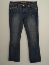 PEPE Jeans Blue Size 32 Stones Glitter Decoration London UK Cotton Blend - $29.92