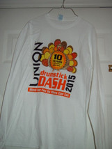 10 Years 2006- 2015 Drumstick Dash Move Your Feet So Others Can Eat Size... - $15.00