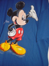 Orlando Florida Disney Mickey Mouse Blue T-Shirt Size 2XL Mickey Unlimited - $19.00