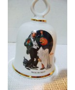 Danbury Mint Norman Rockwell Trick or Treat  Collectible Bell  - $12.00