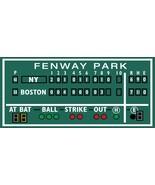 2.5' X 5.5' Green monster Boston decor, Fenway Park, Green Monster score... - $212.85