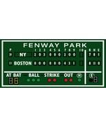 2.5' X 5.5' Green monster Boston decor, Fenway Park, Green Monster score... - $232.65