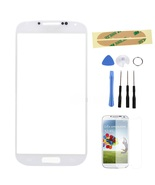 Glass Screen replacement part & tools for AT&T White Samsung Galaxy s4 S... - $19.99