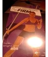FAST AND FIRM SERIES TWO VHS SET: THE FIRM HIPS, THIGHS and ABS and THE ... - $21.77