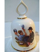 Vintage Danbury Mint Norman Rockwell Baby Sitter Collectible Bell - $12.00