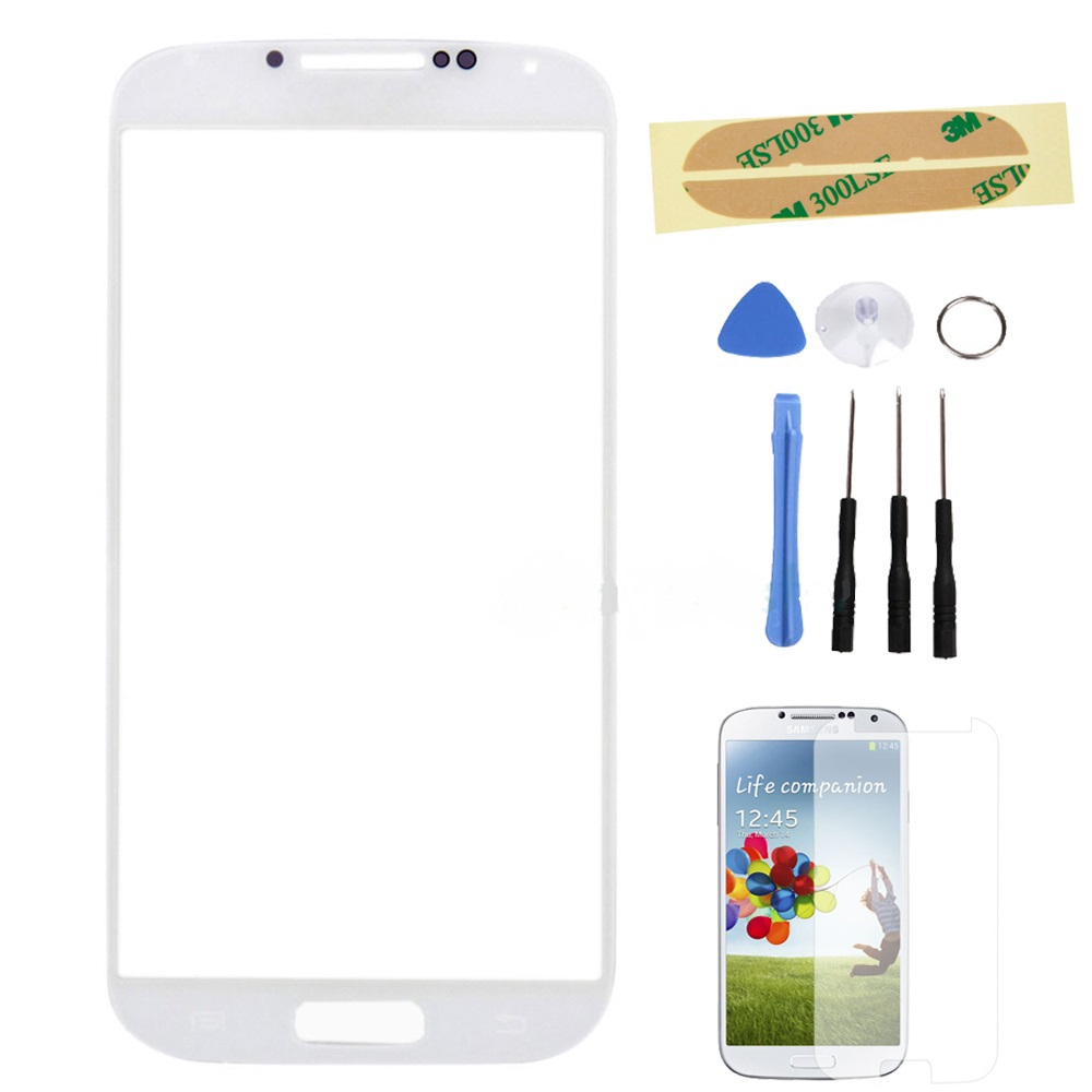 White Glass Screen replacement part tool for T-MOBILE Samsung Galaxy s4 SGH-M919 for sale  USA