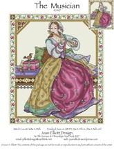 The Musician JE007 cross stitch chart Joan Elli... - $14.00