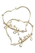 Juicy Couture Gold & Silver Swarovski Crystal P... - $20.21