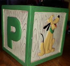 """Walt Disney Pluto Building Block ORNAMENT 2 1/4"""" - $15.63"""