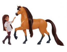 Just Play Spirit Riding Free Small Doll & Collector Lucky Horse Set, Mul... - $44.54