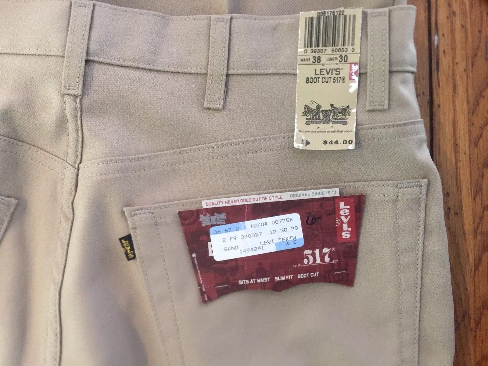 c3aa47fbe5f Vintage NOS Levi's 517 Tan Polyester Pants and 50 similar items. S l1600