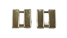 Captain's Gold-tone Vintage Pair Collar Bars - $4.00