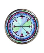 Solomons 6th Moon for Causing Rain Gunmetal Adjustable Ring - $14.95