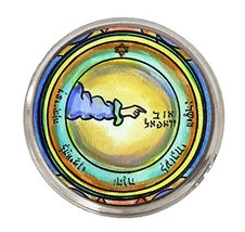 Solomons 3rd Moon for Travel Protection Silver Adjustable Ring - $14.95