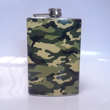 Camouflage Wrap 8 oz Flask - $10.41