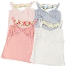 Liz Lisa Kawaii Camisole With Rose Chain Charm Japanese Fashion Gyaru Lolita - $79.00