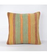 18 x18 inch carpet,rug,kilim pillow,kilim wool pillow ,pilow,womens pill... - $55.00