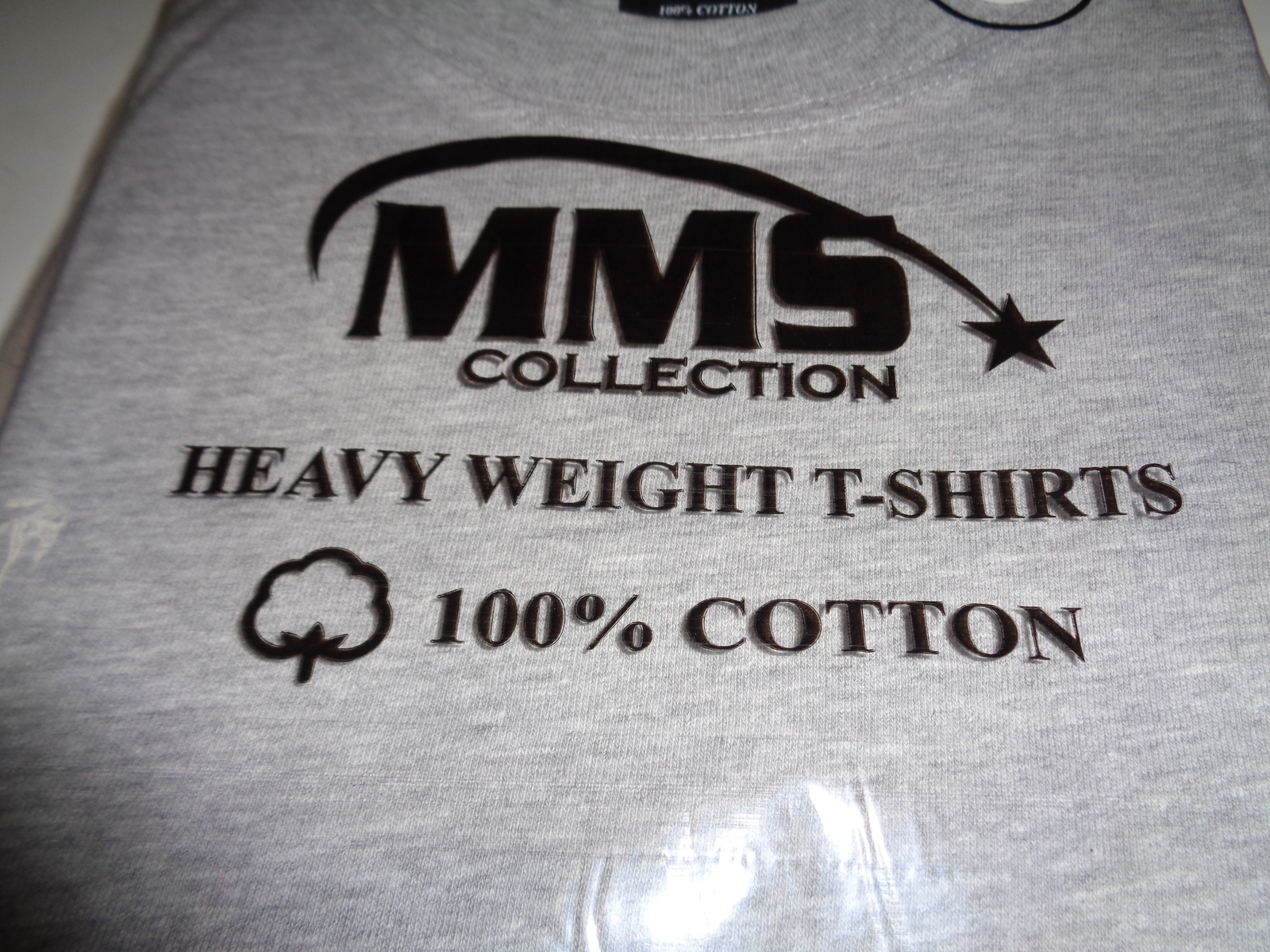 MMS Collection Heavy Weight Cotton T-Shirt Gray NWT SZ 3XL