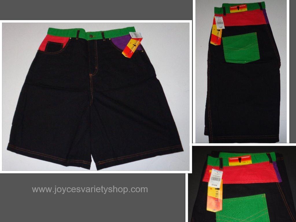 Sergio black shorts collage