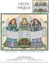 Celtic Angels JE010 cross stitch chart Joan Elliott Designs - $14.00