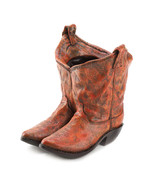 Outdoor Planter Western flair COWBOY BOOTS   - $14.59