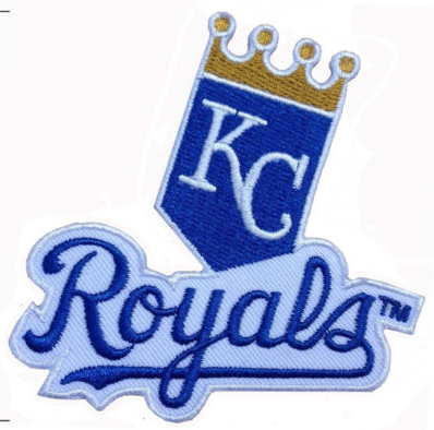 "Kansas City Royals Embroidered Patch Size 3"" x 3"" Shipped from USA"