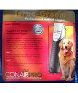 NEW Conair Pro Turbo - Groom Professional Pet Hair Clippers PGR68BX w/ 4... - $89.81