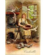 Cinderella Paul Finkenrath of Berlin Vintage 1909 Post Card - $5.00