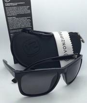 New Polarized VONZIPPER Sunglasses VZ LOMAX Black Frames Wildlife Grey Lenses