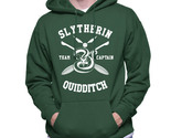 Slytherin quidditch captain white ink hoodie forest thumb155 crop