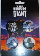Warner Bros. The Iron Giant Pin Set Brand New Set Of 4 Pins    - $7.95