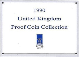 1990 Great Britain 9 Coin 3 Page C.O.A. Document Set~Free Shipping - $3.22