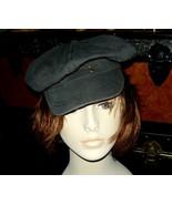 Black All Cotton Cap M - $10.00