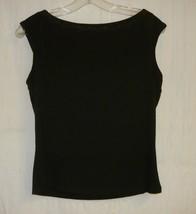 Delicious Black Knit Top M - $10.00